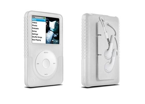 (DLO Jam Jacket with Cord Management for 160 GB iPod classic 6G (Clear))