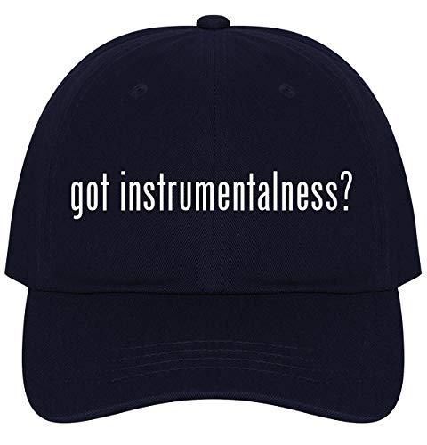 The Town Butler got Instrumentalness? - A Nice Comfortable Adjustable Dad Hat Cap, Navy