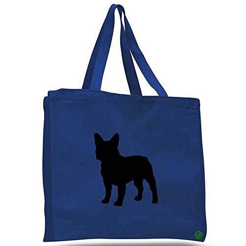 french bulldog messenger bag - 8