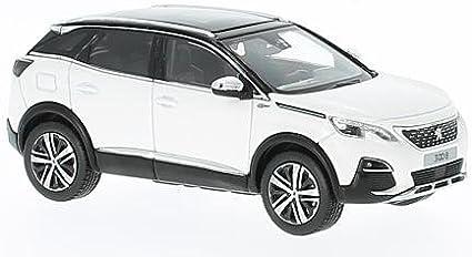 Norev Peugeot 3008 Gt Weiss Schwarz 2016 Modellauto Fertigmodell 1 43 Spielzeug