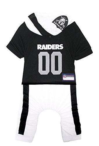 NFL Oakland Raiders Pet Outfit, Large