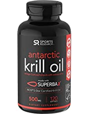 Antarctic Krill Oil (Double Strength) with Omega-3s EPA, DHA and Astaxanthin