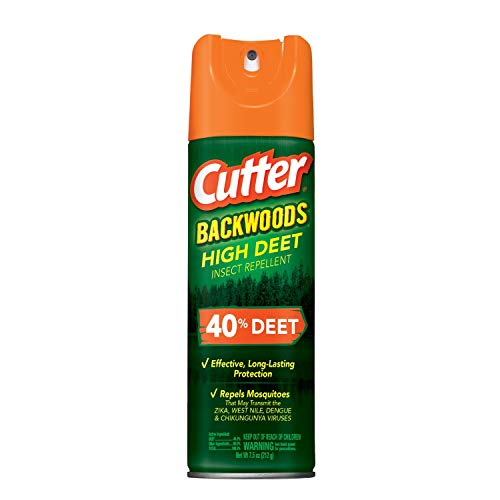 Cutter HG-96647 Backwoods High DEET Insect Repellent, 7.5 oz