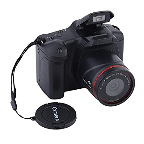 Cámara réflex Digital, cámara portátil HD 12MP 16X, Enfoque Medio ...