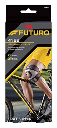 Futuro Sport Moisture Control Knee Support, Moderate Support, X-Large