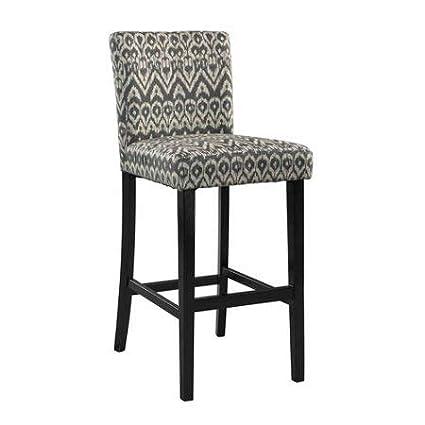 Fine Linon 30 Monaco Bar Stool Driftwood Machost Co Dining Chair Design Ideas Machostcouk