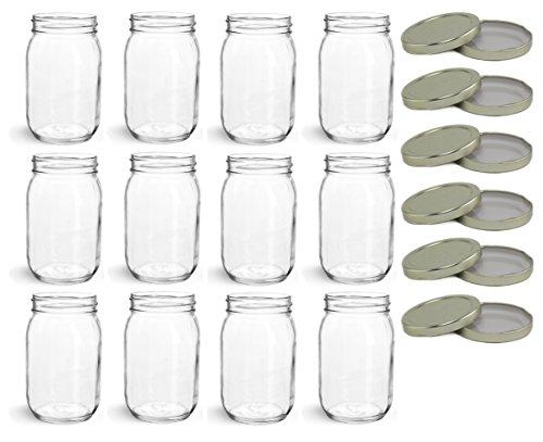 16 oz canning jars - 9