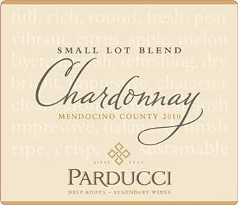 2010 Parducci Small Lot Blend Chardonnay Mendocino County 750 mL