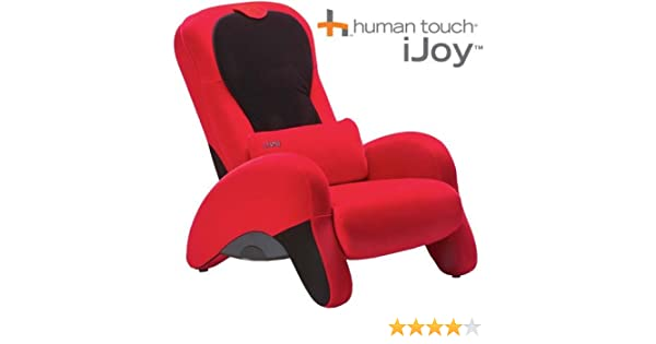 amazoncom ijoy 100 red massage recliner chair human touch kitchen u0026 dining