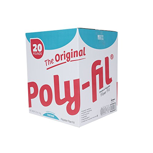 Fairfield The The Original Poly-Fil Premium Box, 20 lb, White
