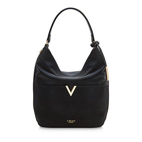 9078e640567e LaBante -Tia- Hobo Bags for Women - Black Handbag Slouchy Purse Tote Purse  Large