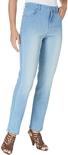 - Gloria Vanderbilt Amanda Classic Fit Tapered Leg Women's Jeans (16 Average, Blue Jay Wash)
