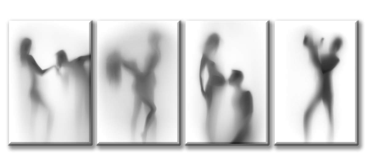 8f2c6de88b7 Amazon.com  DJSYLIFE-Black and White Sexy Picture Canvas Wall Art ...