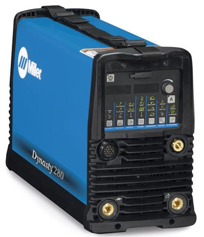 Miller Electric - 907514 - Miller Dynasty 280 DX Auto-Line TIG Welder, 208/230/400/460/575 Volt with Dynasty 280 DX Power Source with CPS, 8