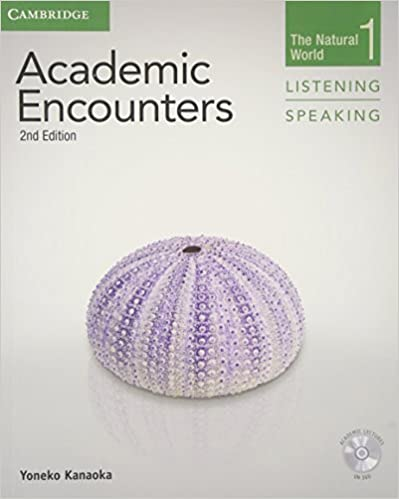 Book Academic Encounters Level 1 Student's Book Listening and Speaking with DVD: The Natural World