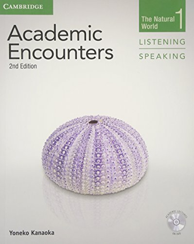 [B.e.s.t] Academic Encounters Level 1 Student's Book Listening and Speaking with DVD: The Natural World E.P.U.B