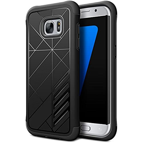 Galaxy S7 Edge Case ,Shulong Dual Shield Shock Absorption Protective Heavy Duty Hybrid Case Cover for Samsung Sales