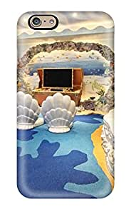High Quality Undersea Themed Media Room Case For Iphone 6 / Perfect Case