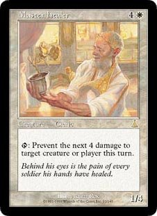 Urzas Destiny Magic Card - Master Healer (Magic the Gathering : Urza's Destiny #12 Rare)