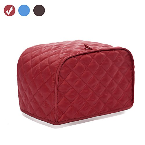 red 4 slice toaster cover - 5
