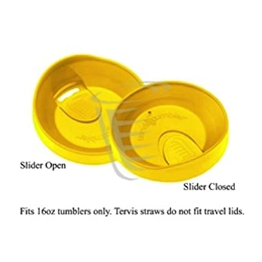 Tervis 16 oz. Yellow Travel Lid