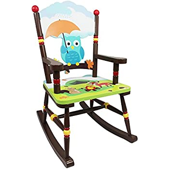 Fantasy Fields   Enchanted Woodland Thematic Kids Wooden Rocking Chair |  Imagination Inspiring Hand Crafted U0026