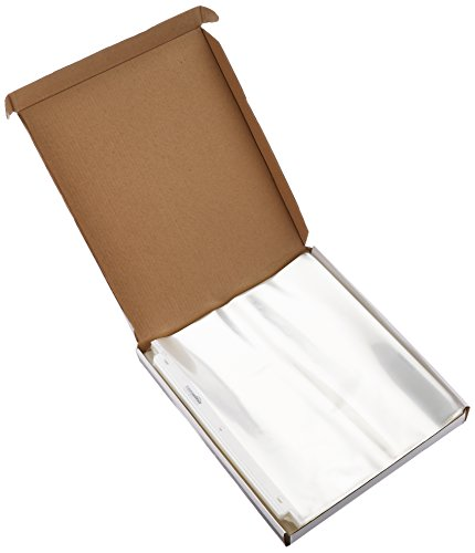 Large Product Image of AmazonBasics Clear Sheet Protectors - Letter Size (100 Pack)