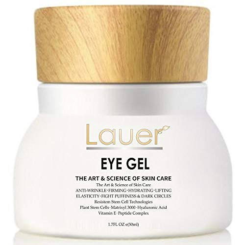 Eye Cream For Dark Circles and Puffiness - Anti Aging Wrinkle Remover Eye Gel - Under Eyes Treatment for Men and Women (Best Filler For Under Eye Circles)