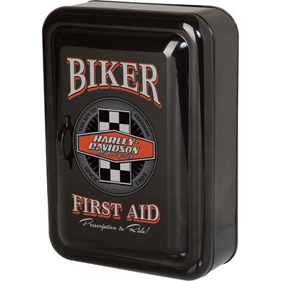 Harley Davidson Biker First Aid Key Cabinet