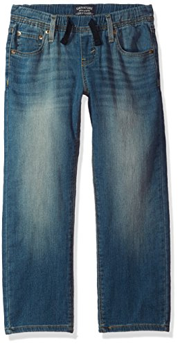 Signature by Levi Strauss & Co. Gold Label Big Boys' Athletic Recess Fit Jeans, Gulf, 8 ()
