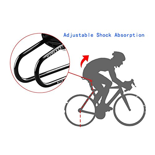 Acacia Sports Bike Rear Shocks Alloy Spring Steel Bicycle Saddle Suspension Device For MTB Mountain Road Bike Shock Absorber Cycling Parts by Acacia (Image #2)