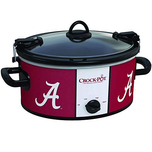 Game Chip Day Alabama - Crock-Pot Alabama Crimson Tide Collegiate 6-Quart Cook & Carry Slow Cooker