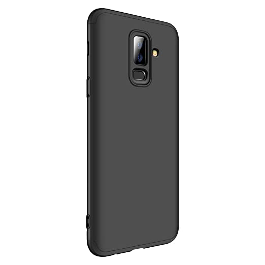 new arrival e3c36 4a88e for Samsung Galaxy J8 (2018) Case, Hybrid 3 in 1 Shockproof Hard PC Full  Protection Mobile Phone Cover Case