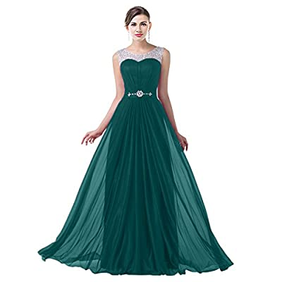 VaniaDress Women Elegnat Rhinestone Bridesmaid Evening Dress Prom Gown V004LF