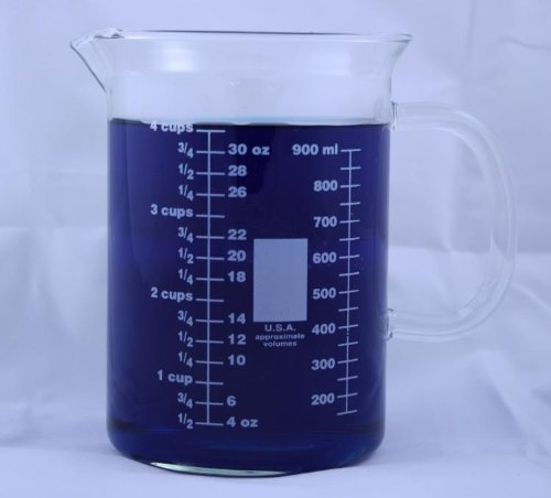 1000ml Glass Beaker Pouring Spout product image
