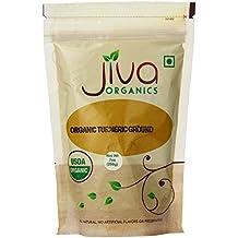 Jiva Organics USDA Organic Turmeric Powder (Curcumin), 7 Ounce