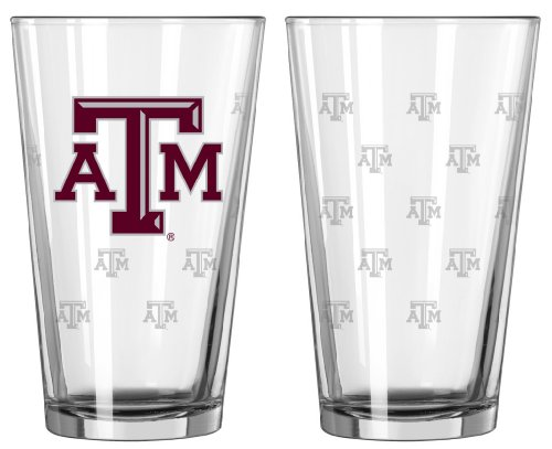 Texas Aggies Satin Etch Glass product image