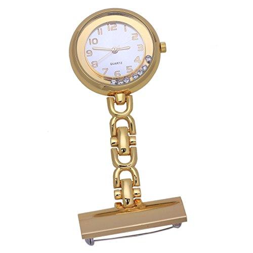ulse Watch Gusset Nurse Quartz Clock w#5 ()