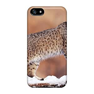 New Style Tpu 5/5s Protective Case Cover/ Iphone Case - Bobcat Animals by mcsharks