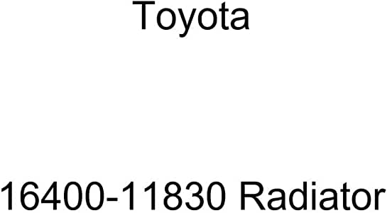 Toyota 16400-11830 Radiator