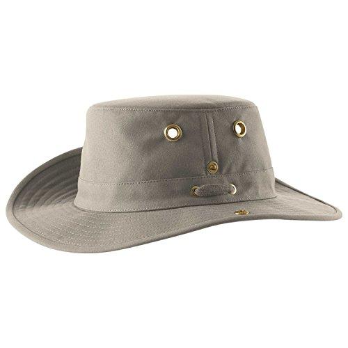 Tilley Endurables T3 Traditional Canvas Hat,Khaki,7