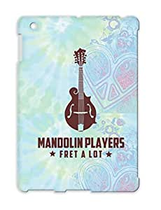 Mandolin Player Red Dirtproof Case For Ipad 4 Band Country Funny Saying Music Country Music Players Fret A Lot Instrument Banjo