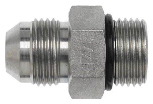 Brennan 6400-08-08-O Steel JIC Flared Tube Fitting, Straight, 1/2