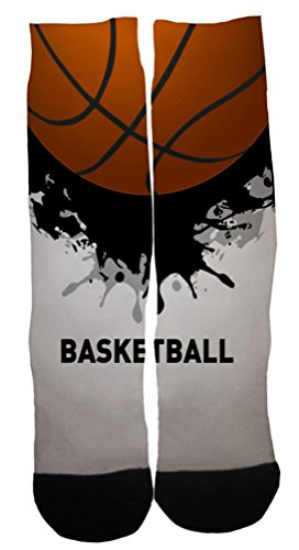 Kalily Custom Basketball Dri-fit Crew Socks with Designs – DiZiSports Store