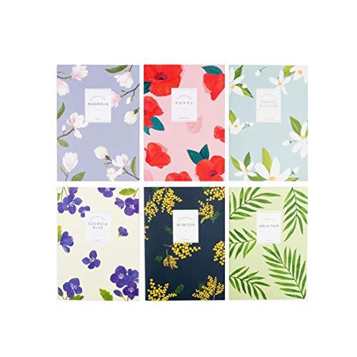 - GRACEBELL Flower Blossom Notebook/Journal/Diary Set - 5.9