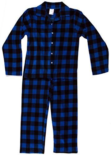 Pajama Fleece Boys Pants (Prince of Sleep Two Piece Pajama Set Pajamas Boys 44526-7B-4)