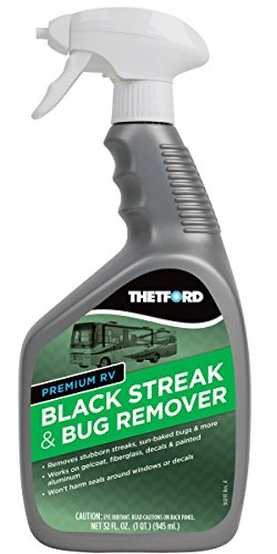 Thetford Premium Bug Remover-Black Streak Cleaner for RVs/Boats/Cars/Trucks/Vans/Motorcycles-32 oz 32501, 32. Fluid_Ounces