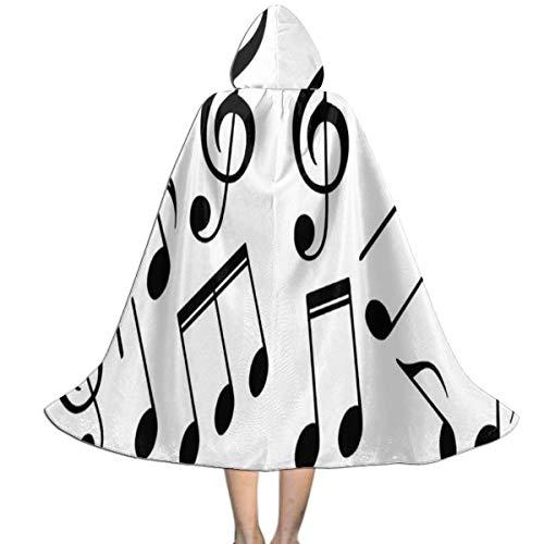 REDCAR Halloween Christmas Costume Music Symbols Fashion Party Vampires Cosplay for Women/Men