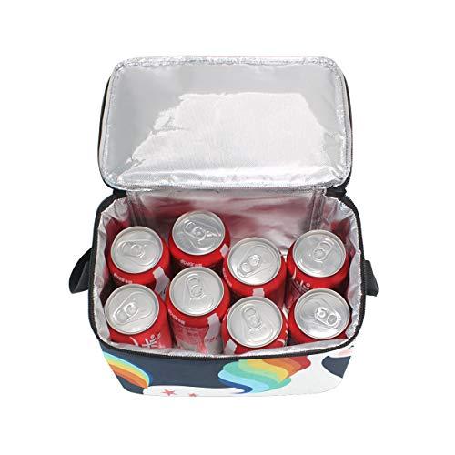 Hombro Running Lunchbox Cooler Unicorn Star Correa Para Picnic De Lonchera Zq86gnawE