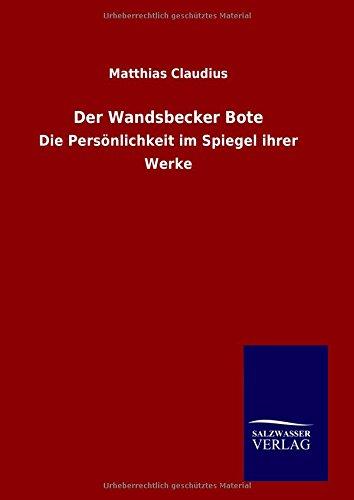 Download Der Wandsbecker Bote (German Edition) ebook